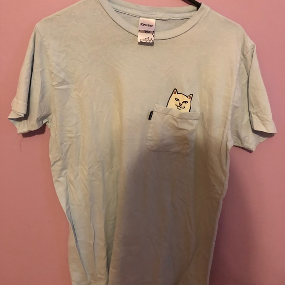 Ripndip Other - light blue ripndip t-shirt